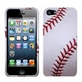 BasAcc Baseball Sports Snap-on Protector Case Cover for Apple iPhone 5/5s