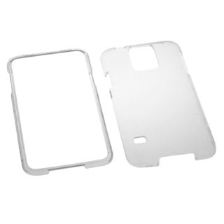 INSTEN T-Clear Plastic Hard Plastic Snap-on Protector Phone Case Cover for Samsung Galaxy S5