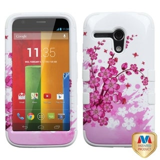 BasAcc High Impact Dual Layer Hybrid Case Cover for Motorola Moto G