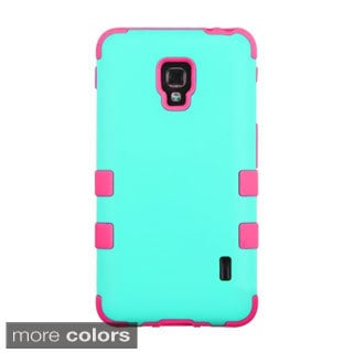 BasAcc High Impact Dual Layer Hybrid Case Cover for LG Optimus F6 D500 / MS500