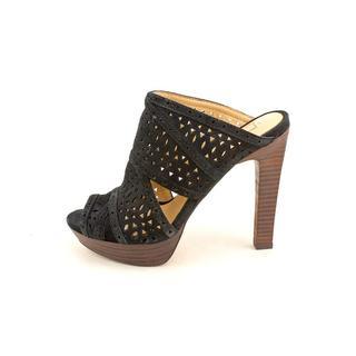 BCBG Max Azria Women's 'Galinaa' Regular Suede Heels