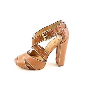 BCBG Max Azria Women's 'Payton 1' Leather Heels