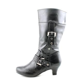 Soda Girl (Youth) 'Strappy' Leather Boots