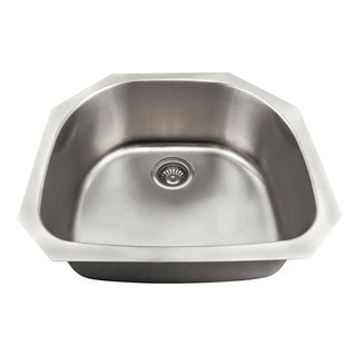The Polaris Sinks P2401US 18 Gauge Kitchen Ensemble