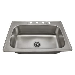 The Polaris Sinks PT0301US 20 Gauge Kitchen Ensemble