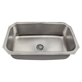 The Polaris Sinks P0301US 18 Gauge Kitchen Ensemble