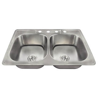 The Polaris Sinks PT2201US 20 Gauge Kitchen Ensemble