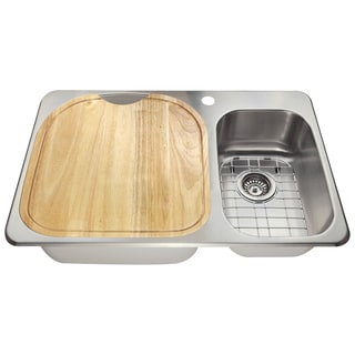 The Polaris Sinks PL1213T 18 Gauge Kitchen Ensemble