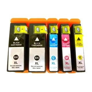 Compatible Dell 31 32 33 34 V28CF 8C4HK WK32Y 4W8HJ 331-7689 331-7691 331-7690 331-7692 Ink (Pack of 5)
