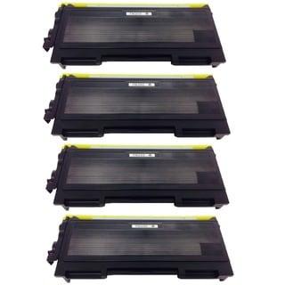 Brother TN350 TN-350 Black Toner Cartridge HL-2040 2070N MMC-7220 7225N 7420 7820N DCP-7020 p (Pack of 4)