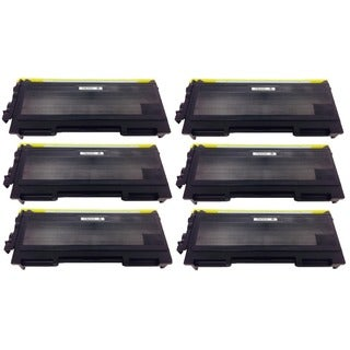 Brother TN350 TN-350 Black Toner Cartridge HL-2040 2070N MMC-7220 7225N 7420 7820N DCP-7020 p (Pack of 6)