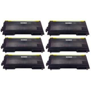 Brother TN350 TN-350 Black Toner Cartridge HL-2040 2070N MMC-7220 7225N 7420 7820N DCP-7020 p (Pack of 6)