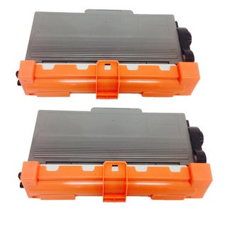 Compatible Brother TN750 Toner Cartridge HL-6180DWT, MFC-8510DN, MFC-8710DW, MFC-8910DW, MFC-8 (Pack of 2)