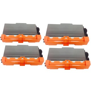 Compatible Brother TN750 Toner Cartridge HL-6180DWT, MFC-8510DN, MFC-8710DW, MFC-8910DW, MFC-8 (Pack of 4)