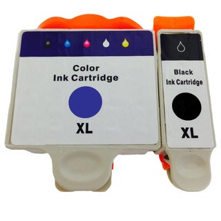 Replacement DW905 N573F Series 20 Ink Cartridges for Dell DW905 DW906 (Pack of 2)