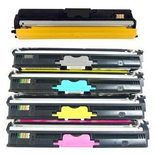 Compatible Color Set Toner Cartridge for Konica Minolta Magicolor 1600W/ 1650EN/ 1680MF/ 1690MF (Pack of 5)