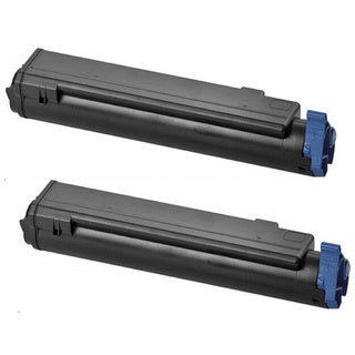 Toner Cartridges B4400 43502301 Black for Okidata OKI B4500 B4550 B4600 (Pack of 2)