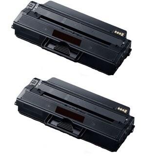 High Yield Toner Cartridge for Samsung 115L SL-M2820DW SL-M2870FW MLT-D115L MLT-D115S (Pack of 2)