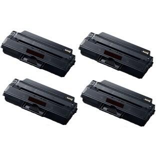 High Yield Toner Cartridge for Samsung 115L SL-M2820DW SL-M2870FW MLT-D115L MLT-D115S (Pack of 4)