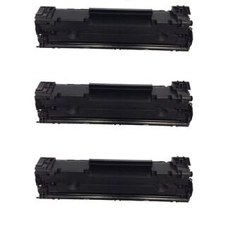 HP CF283A Black Toner Cartridge for HP LaserJet M127fn/ M127fw (Pack of 3)
