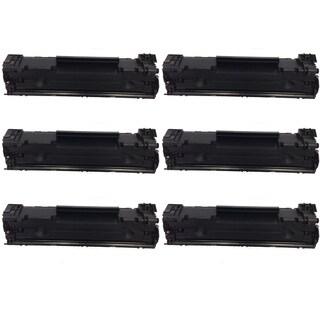 HP CF283A Black Toner Cartridge for HP LaserJet M127fn/ M127fw (Pack of 6)