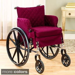 Sure Fit Twill Supreme Desk Wheel Chair Cover for 18 x 18-inch Seat