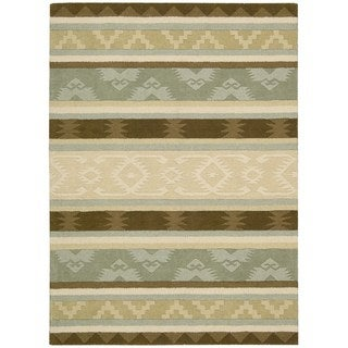 Nourison India House Sage Rug (5' x 8')
