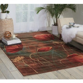 Nourison Somerset Multicolor Rug (5'6 x 7'5)