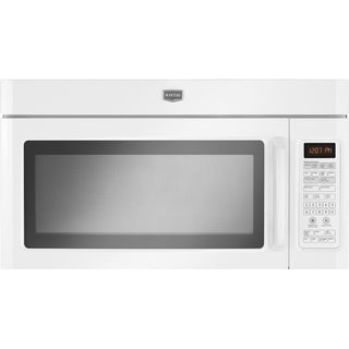 Maytag 1.8 cubic foot White Over-The-Range Microwave