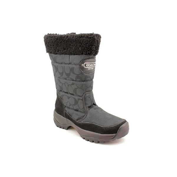 Coach Women's 'Sonya' Fabric Boots