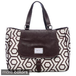 Nine West Hex Flap Tote