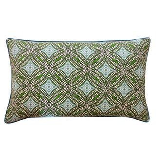 12 x 20-inch Turtle Pebble Blue Decorative Throw Pillow
