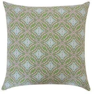 20 x 20-inch Turtle Pebble Blue Decorative Throw Pillow
