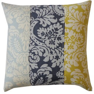 Hibiscus Zebra Decorative Throw Pillow