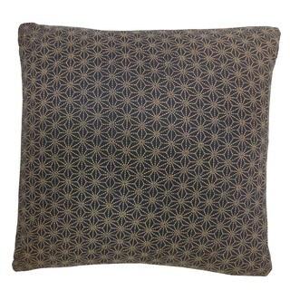 Kioto Star Blue Decorative Throw Pillow