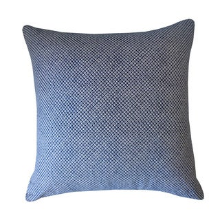 Kioto Eye Blue Decorative Throw Pillow