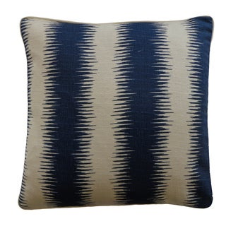 20 x 20-inch Shock Blue Decorative Throw Pillow