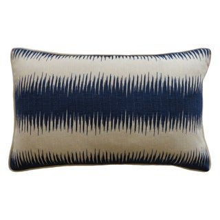 12 x 20-inch Shock Blue Decorative Throw Pillow