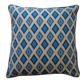 Blue Throw Pillows Overstock : Moroccan Outdoor Blue Decorative Pillow - 13266616 - Overstock.com Shopping - The Best Prices on ...