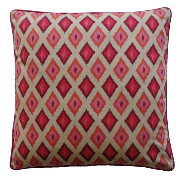 Kite Red Decorative Throw Pillow