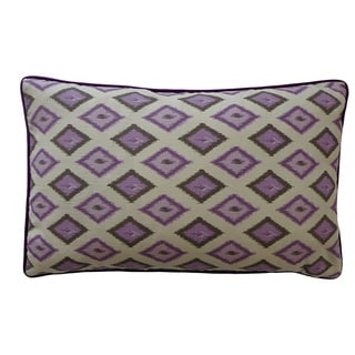 12 x 20-inch Kite Purple Decorative Throw Pillow