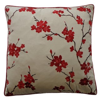20 x 20-inchChina Pink Decorative Throw Pillow