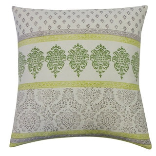 Jaya Green Decorative Throw Pillow