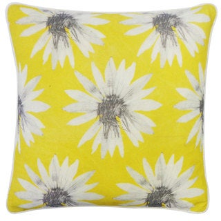 Sunflower Yellow Decorative Throw Pillow