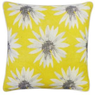 Sunflower Yellow Decorative Throw Pillow