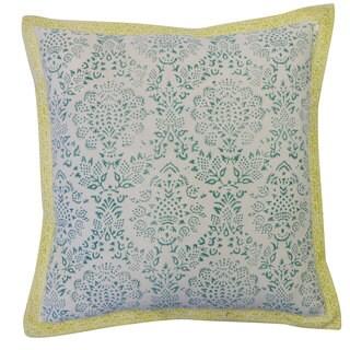Zazzel Blue Decorative Throw Pillow