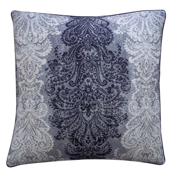 Regal Black Decorative Throw Pillow