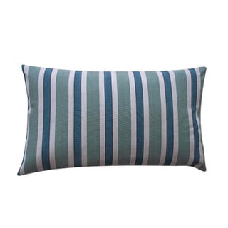 12 x 20-inch Funstripe Green Decorative Throw Pillow