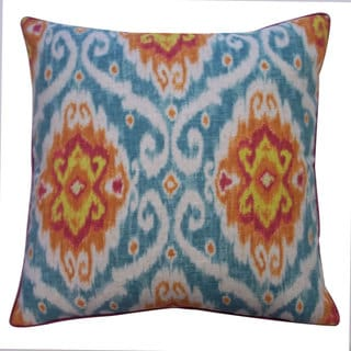 Kylinni Orange Decorative Throw Pillow