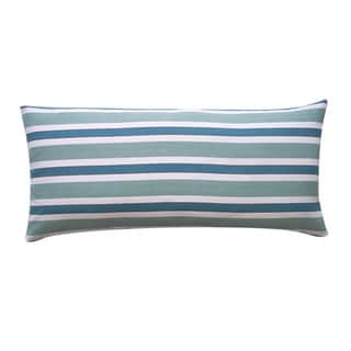 12 x 26-inch Funstripe Green Decorative Throw Pillow